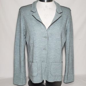 Eileen Fisher SOFT Merino Wool Blend Blazer